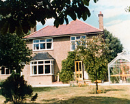 The inspiration for the house; one that Grange moved into before writing the animated cartoon series